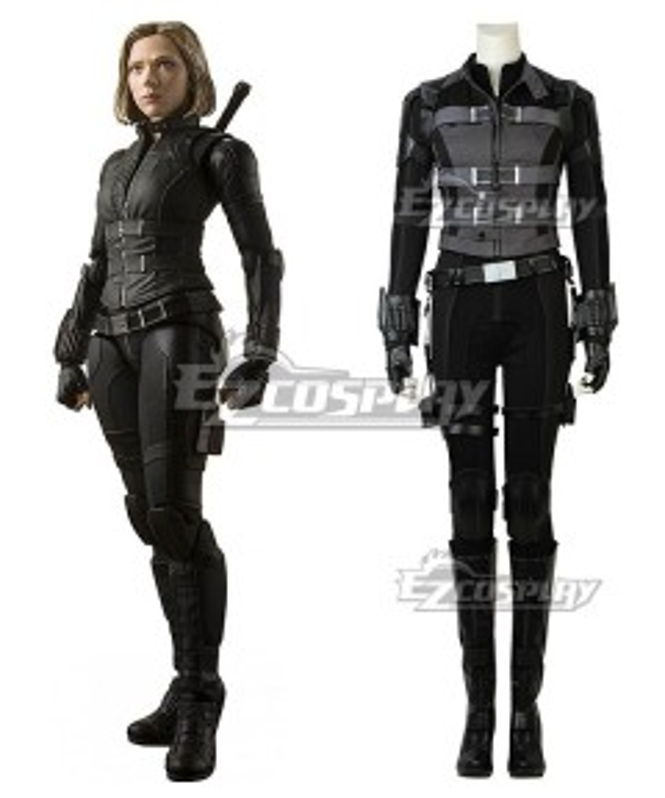 Marvel Avengers 3: Infinity War Black Widow Natasha Romanoff Cosplay Costume