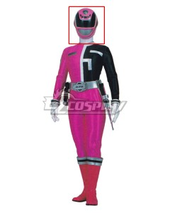 Power Rangers S.P.D. SPD Pink Ranger Helmet Cosplay Accessory Prop