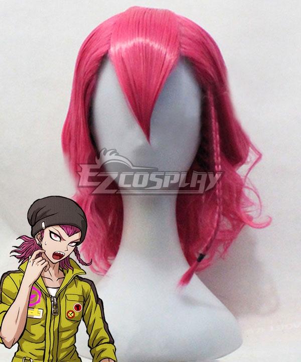 Danganronpa 2: Goodbye Despair Kazuichi Soda Pink Cosplay Wig