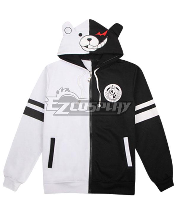 Danganronpa Monokuma Coat Hoodie Cosplay Costume