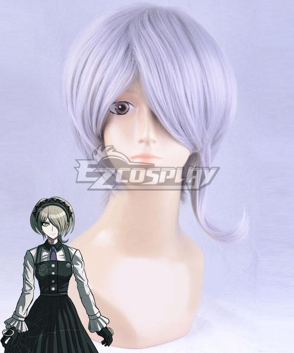 Danganronpa V3: Killing Harmony Kirumi Tojo Silver grey Cosplay Wig - Only Wig