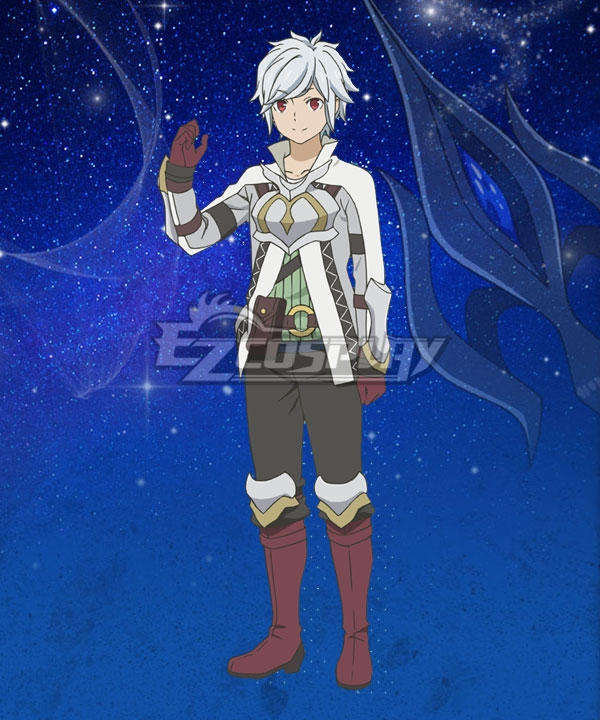 DanMachi Is It Wrong to Try to Pick Up Girls in a Dungeon? Arrow of Orion Bell Cranel Cosplay Costume