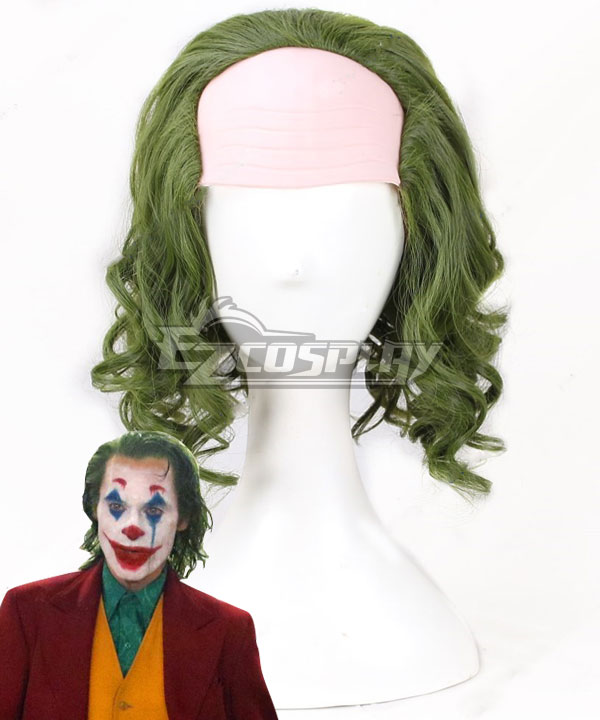 Movie The Dark Knight Joker Men/'s Short Anime Cosplay Wig Halloween Party Wig AA