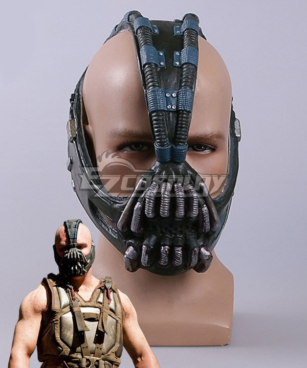 DC The Dark Knight Rises Bane Halloween Mask Cosplay Accessory Prop