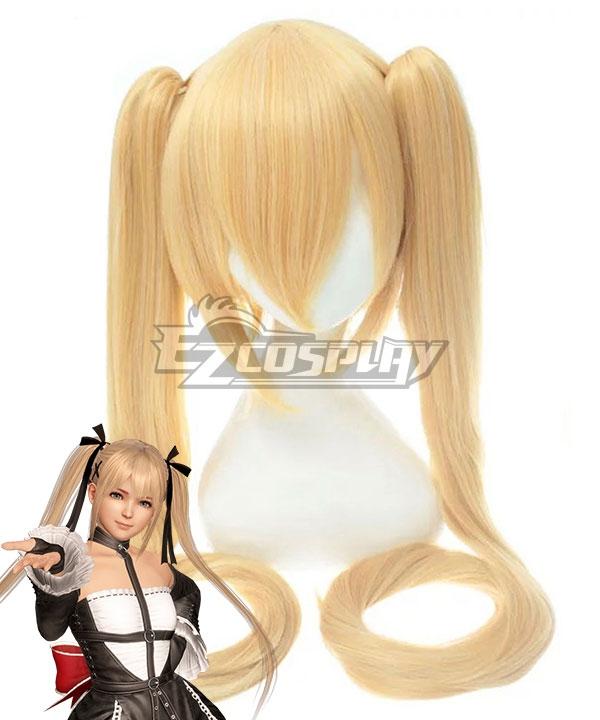 Dead or Alive 6 Marie Rose Golden Cosplay Wig