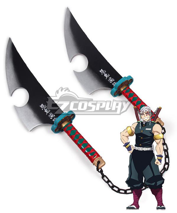 Demon Slayer Kimetsu No Yaiba Tengen Uzui Knife Cosplay Weapon Prop B Edition This figure is colored in a sepia tone to give the figure an entirely different feel! demon slayer kimetsu no yaiba tengen