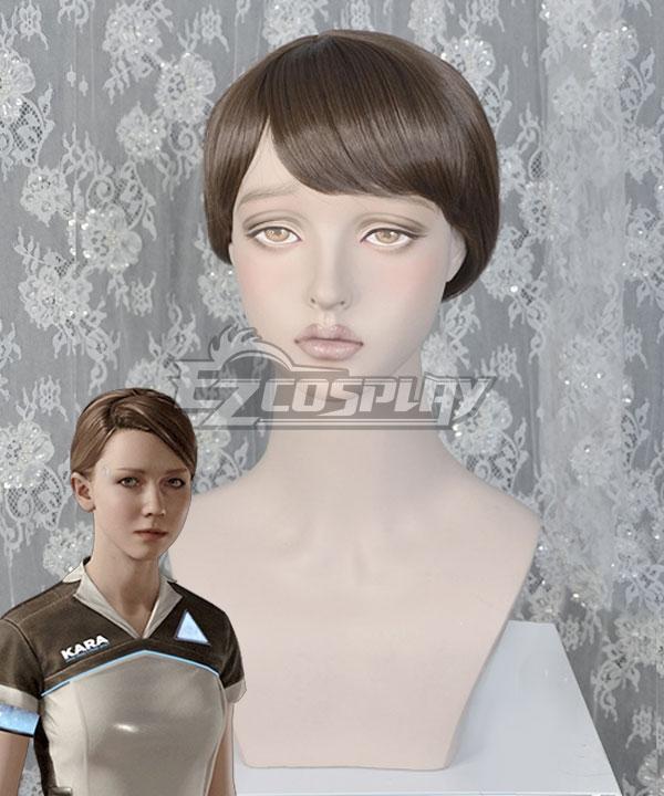 Detroit: Become Human Kara Light Brown Cosplay Wig