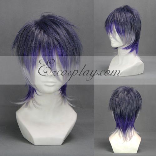 Diabolik Lovers More Blood Sakamaki Reiji Light Blue Cosplay Wig-303E
