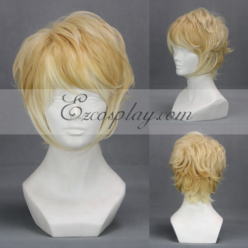 Diabolik Lovers Light Yellow Cosplay Wig-303D