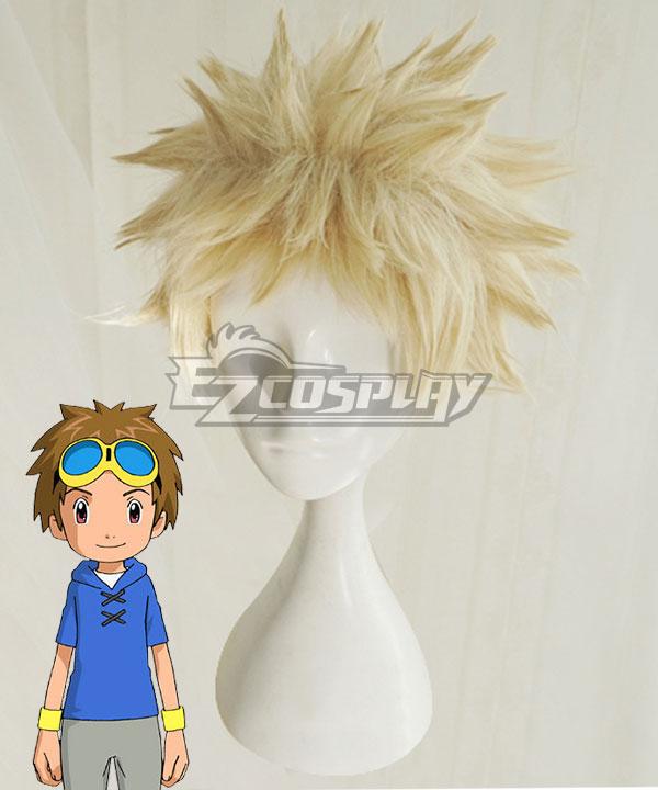 Digimon Tamers Takato Matsuki Golden Cosplay Wig