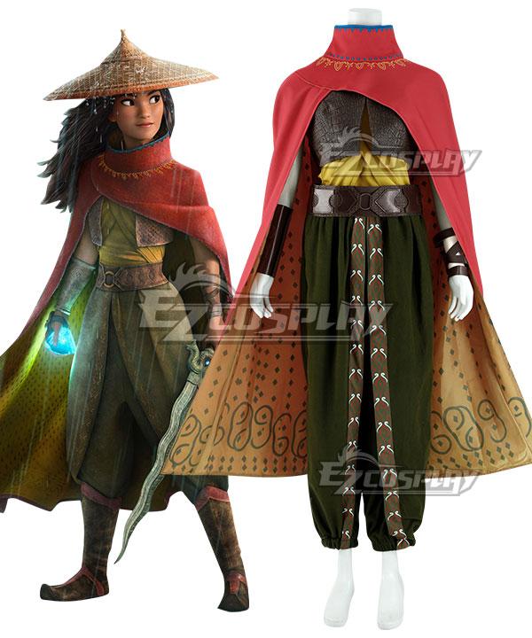 Disney Raya And The Last Dragon Raya Cosplay Costume