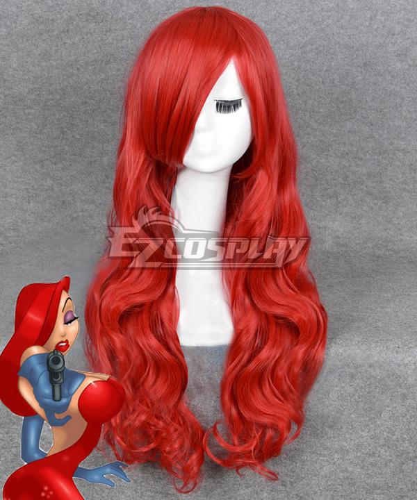 Disney Who Framed Roger Rabbit Jessica Rabbit Red Cosplay Wig