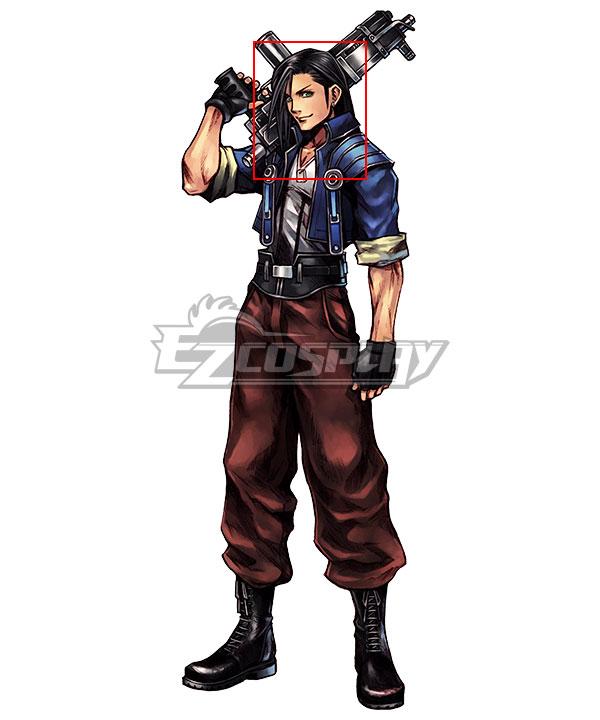 Dissidia Final Fantasy 012 FF8 Laguna Loire Black Cosplay Wig