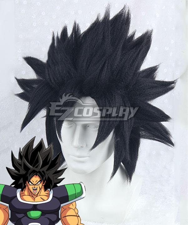 Dragon Ball Super: Broly Broly Black Cosplay Wig