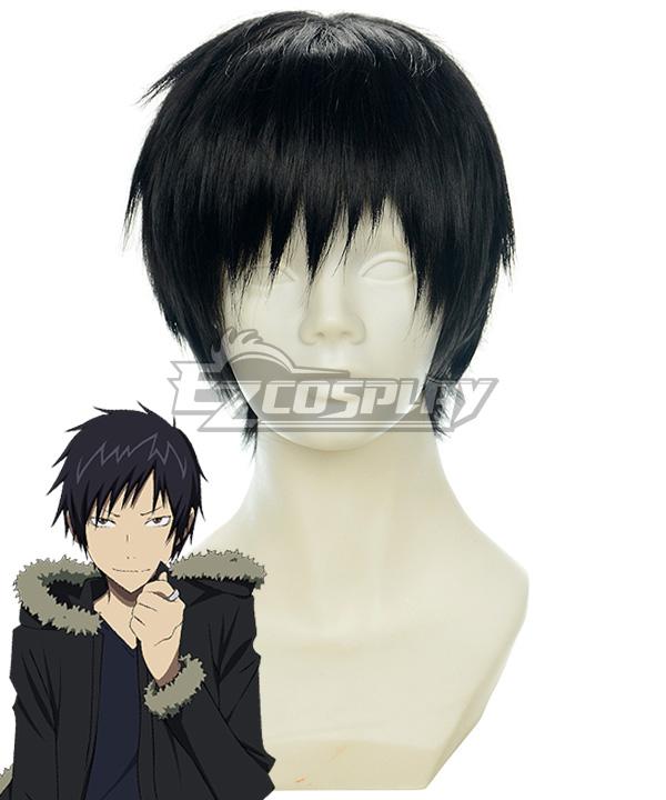 DuRaRaRa!! Orihara Izaya Black Cosplay Wig-159A