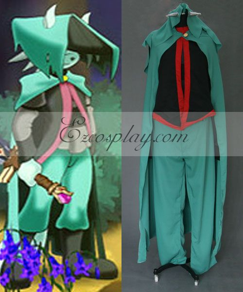 Dust cosplay costume