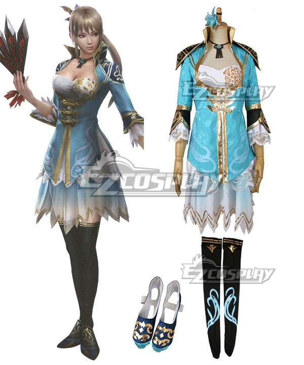 Dynasty Warriors 8 Wang Yuanji Cosplay Costume