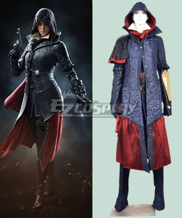 Assassin S Creed Syndicate Evie Frye Cosplay Costume Costumes