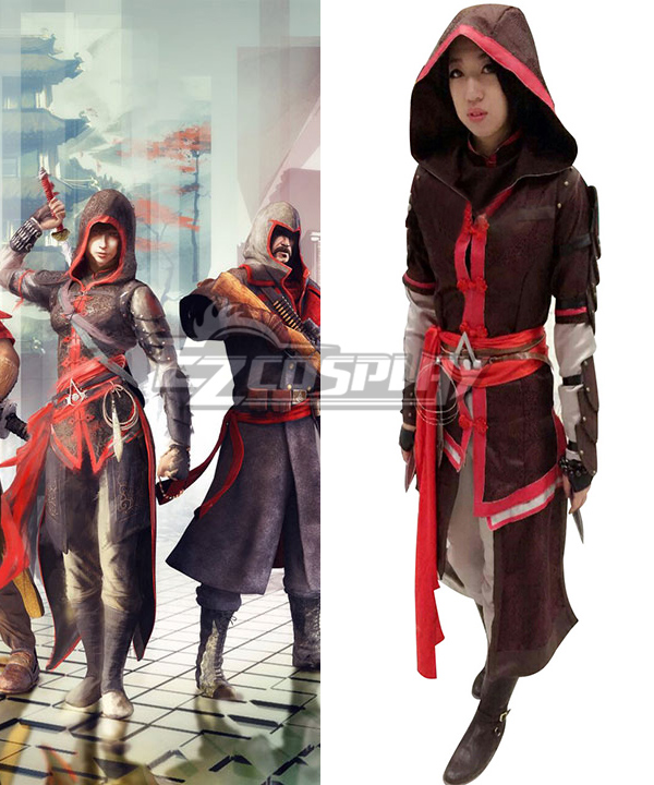 Assassins Creed Chronicles China Shao Jun Cosplay Costume