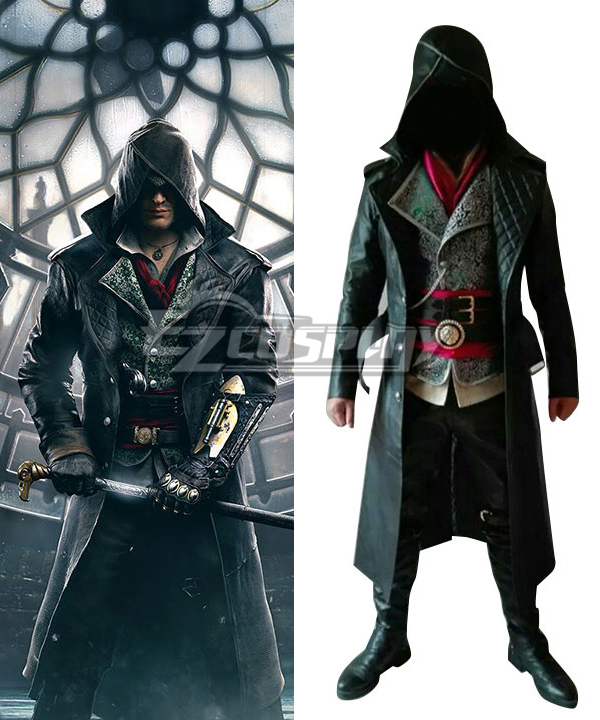 Assassin's Creed Syndicate Jacob Frye Cosplay Costume - C Edition #Jacob