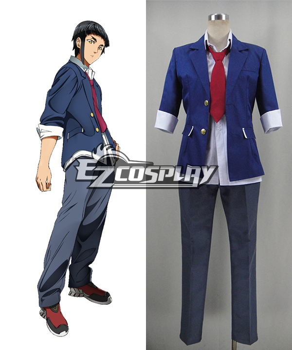 Aquarion Logos Akuerion Rogosu Akira Kaibuki Cosplay Costume