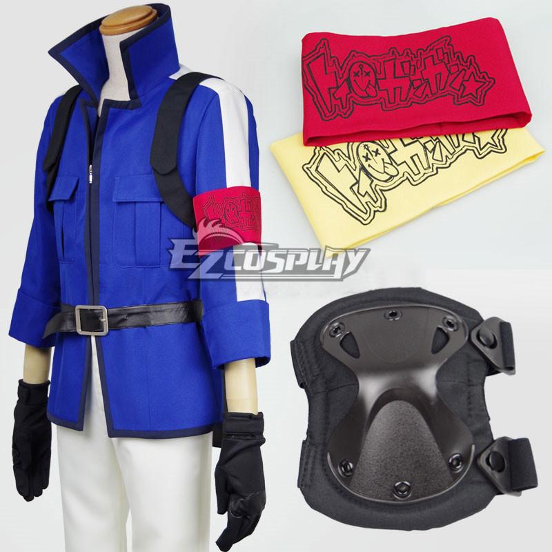 Aoharu x Machinegun Aoharu x Kikanjuu Masamune Matsuoka Toy ¡î Gun Gun Team Fighting Version Cosplay Costume