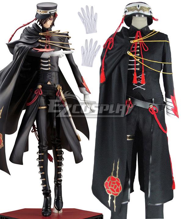 Code Geass Lelouch Britannia//Lamperouge Rebellion Uniform Cosplay Costume