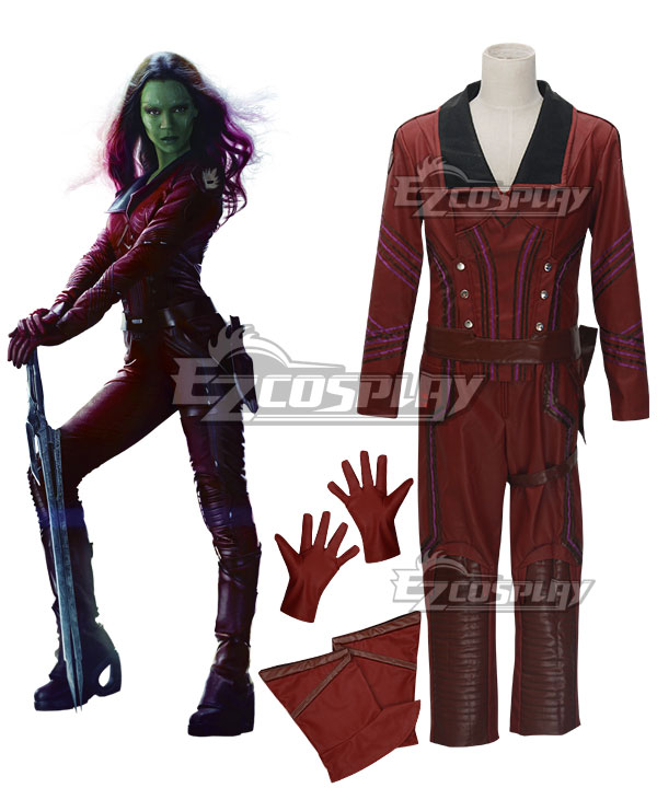 Gamora From Guardians of the Galaxy Cosplay Costume