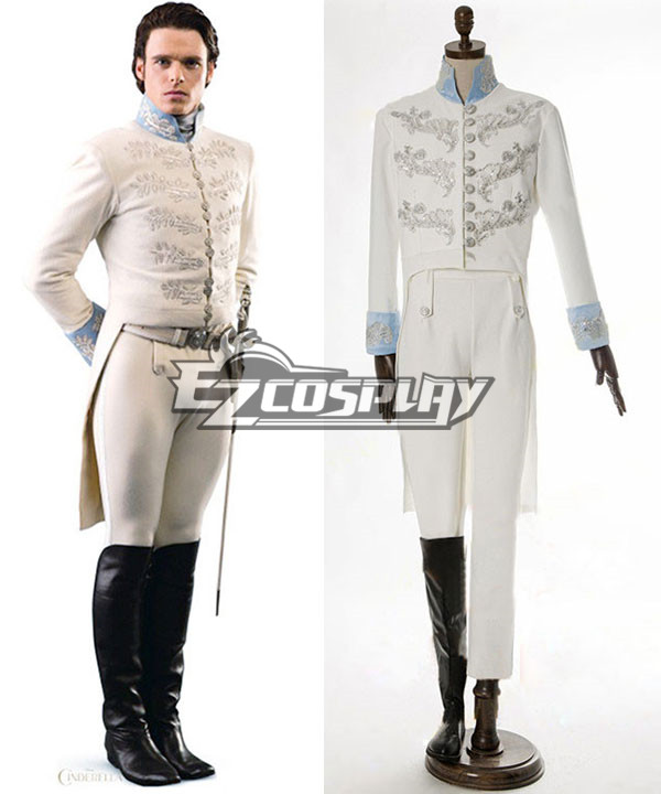 Image of 2015 Film Cinderella Prince Charming Kit Uniform Outfit Cosplay Costume