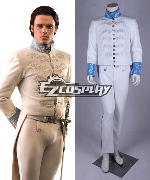 Cinderella Prince Charming Kit Uniform Outfit Cosplay Costume