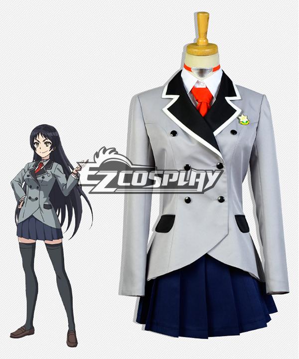 Shimoneta: A Boring World Where the Concept of Dirty Jokes Doesn¡¯t Exist Ayame Kajo Cosplay Costume