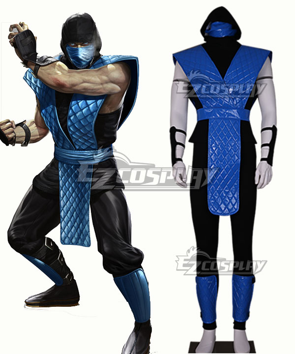 Mortal Kombat Sub-Zero Sub Zero Cosplay Costume