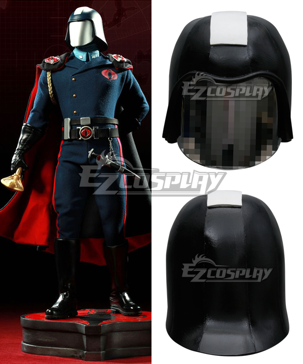 G.I. Joe Series Commander Cobra Helmet Cosplay Accessories Prop