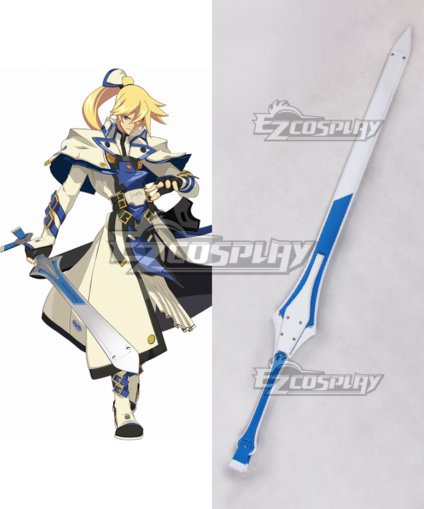 Guilty Gear Xrd -SIGN- Ky Kiske Sword Cosplay Weapon Prop