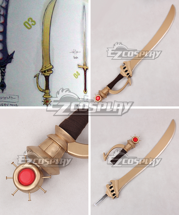 Fire Emblem Awakening Sol Katti Sword Cosplay Weapon Prop