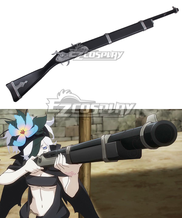 Rokka Braves of the Six Flowers Rokka no Yusha Flamie Speeddraw Furemi Supiddorou Gun Firelock Cosplay Weapon Prop