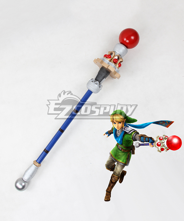 The Legend Of Zelda Hyrule Warriors Link Staves Cosplay Weapon Prop