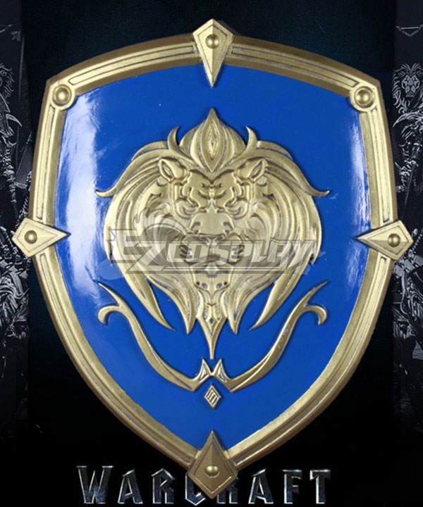Warcraft The Beginning World of Warcraft WOW Stormwind Soldier Lion Shield Cosplay Weapon Prop