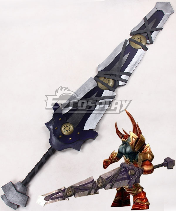 World of Warcraft WOW Armageddon Sword Cosplay Weapon Prop