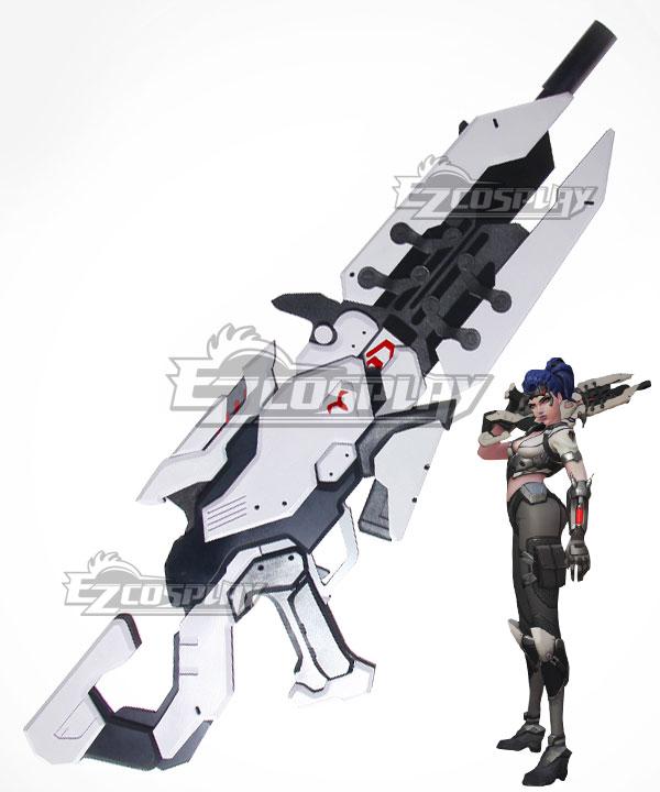 Overwatch OW Widowmaker Amelie Lacroix Talon Widow's Kiss Gun Cosplay Weapon Prop