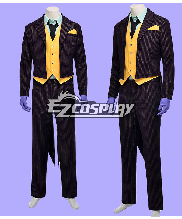 DC Comics Batman Arkham City Joker Cosplay Costume