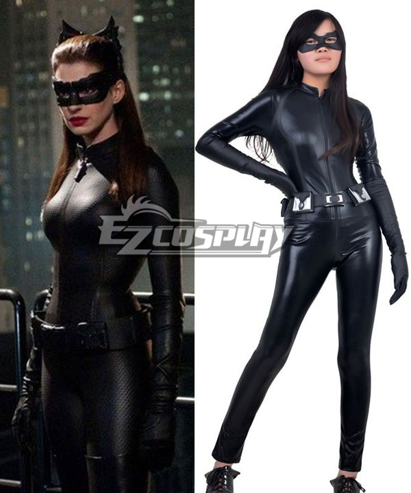 DC Comics Batman The Dark Knight Rises Catwoman Selina Kyle Cosplay Costume