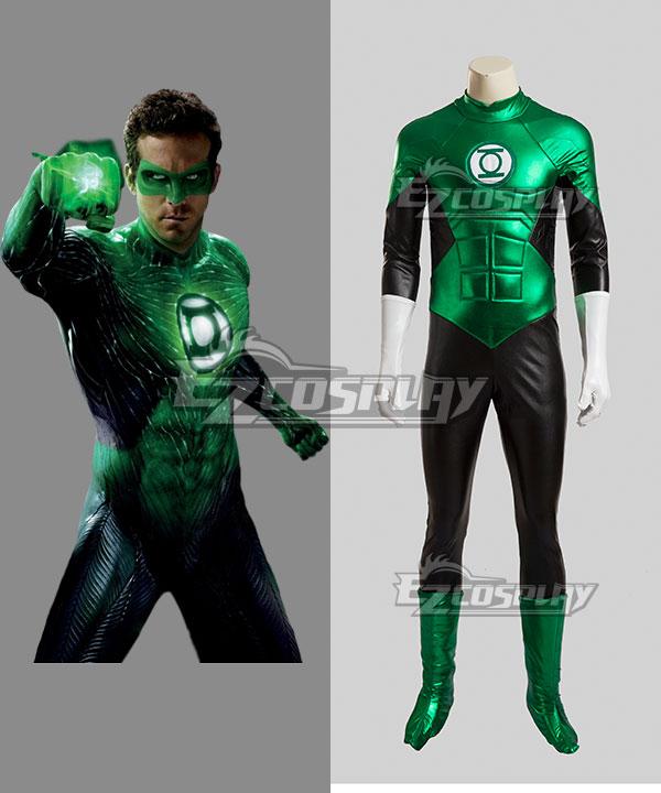 DC Green Lantern Hal Jordan Green Lantern Cosplay Costume