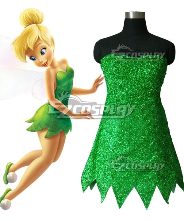Disney Tinker Bell Tinkerbell Cosplay Costume