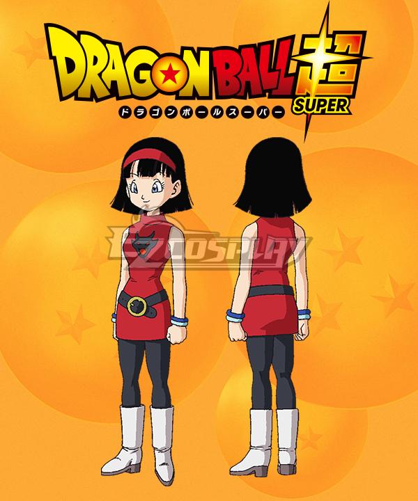 Dragon Ball Super Videl Bideru Cosplay Costume
