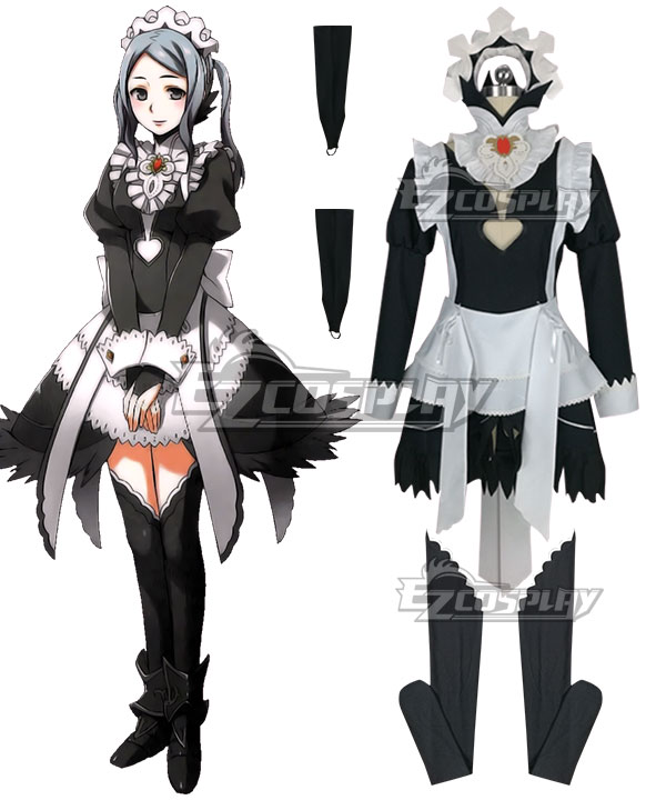 Fire Emblem Fates IF Flora Cosplay Costume