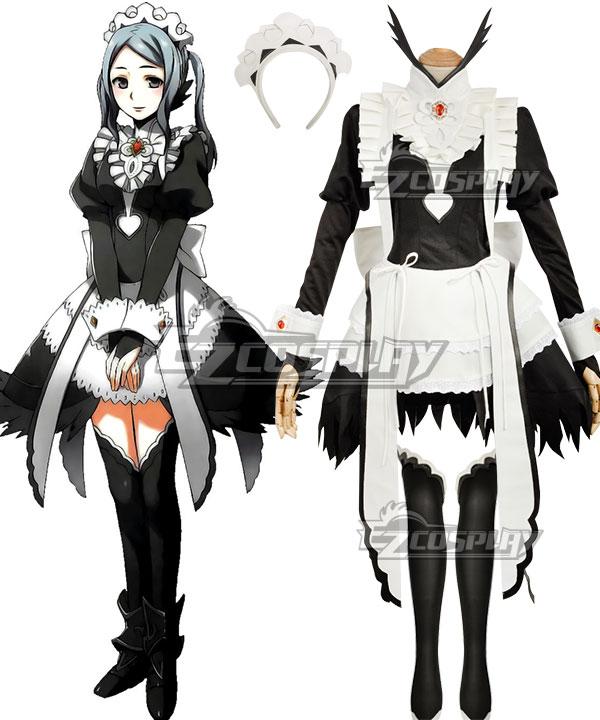 Fire Emblem Fates IF Flora Cosplay Costume - Premium Edition