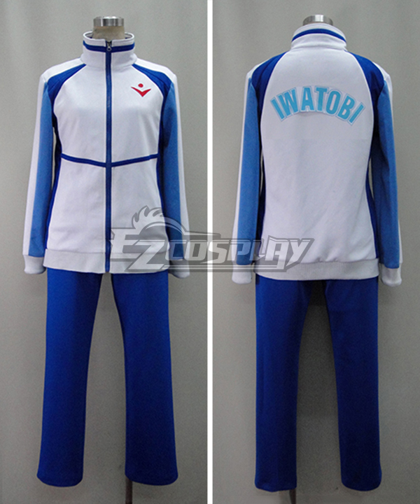 Free! Iwatobi High School Gym Suit Uniform Cosplay Costume