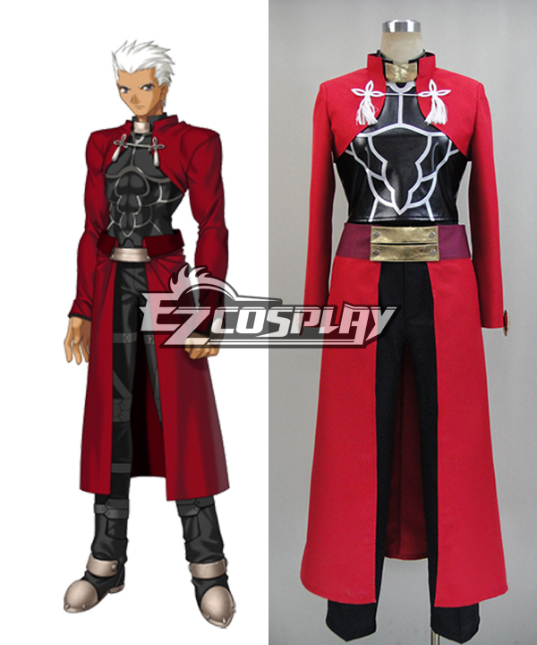 Fate Stay Night: Unlimited Blade Works UBW Archer Cosplay Costume