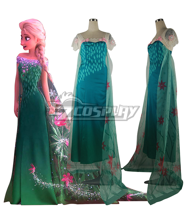 Birthday | Costume | Disney | Party | Queen | Dress | Elsa